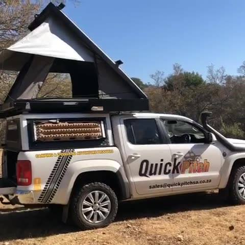 Quick Pitch Roof Top Tent 5